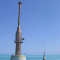 Weather station at the Rowley Shoals - Photo copyright Australian Institute of Marine Science
