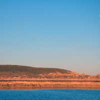 Moon rising over Stephensons Channel in the Montebello Islands Marine Park. Photo Suzanne Long/Parks and Wildlife