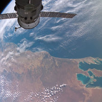 Shark Bay from Space - Photo copyright NASA