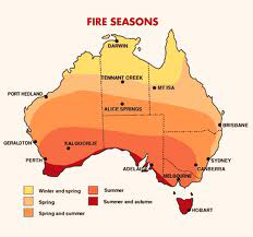 Australian fire seasons