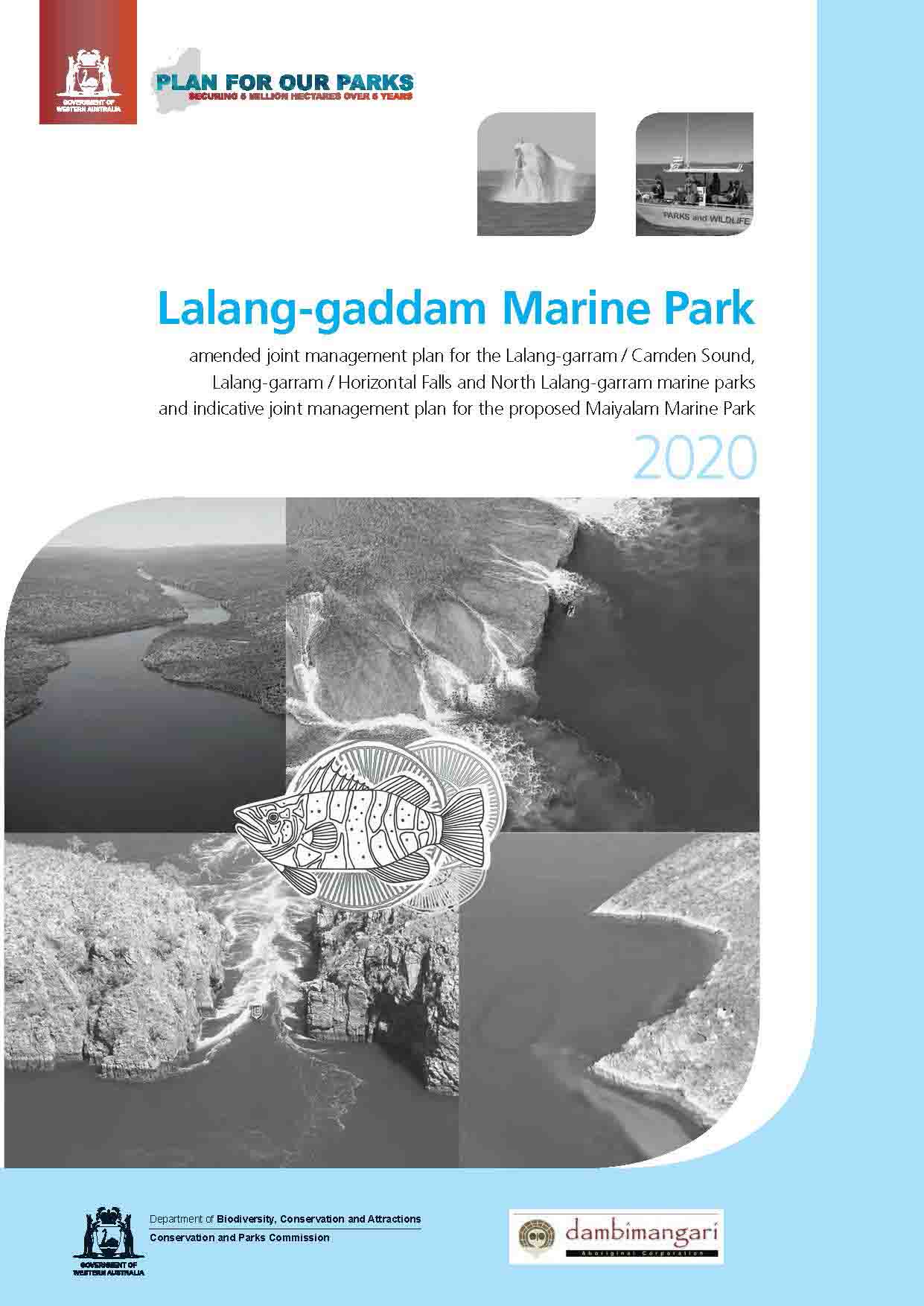 Lalang-gaddam marine park amended and indicative joint management plan