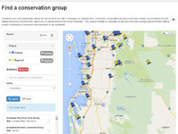 Find a conservation group