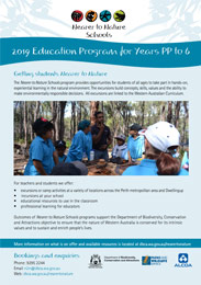 Nearer to Nature 2019 School programs thumbnail years PP - 6