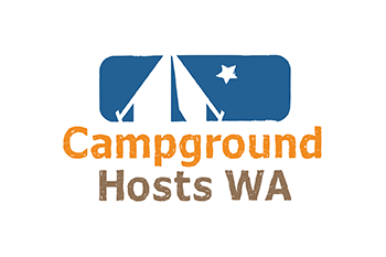 Campground hosts WA logo