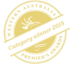 Western Australia Premier's Awards Category Winner 2014