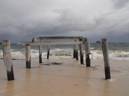Hamelin Bay jetty ruins