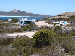 Lucky Bay campground. Photo - DBCA